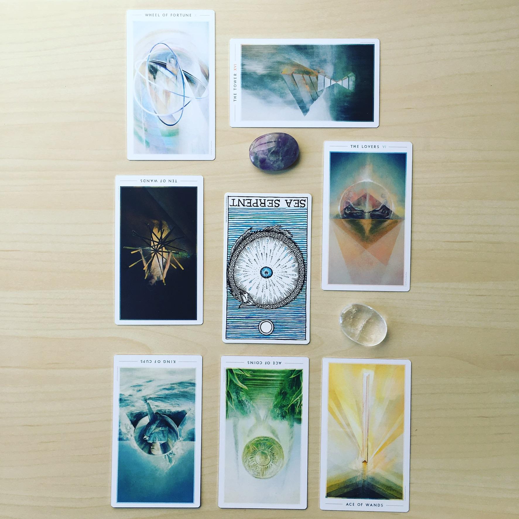 60 min Tarot Reading - in person/online